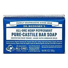 Organic Peppermint Bar Soap-140 g Brand: Dr. Bronners Magic Soap