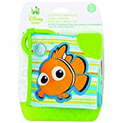 Disney Baby Finding Nemo On the Go Soft Teether Book, 5