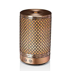 Amazon.com : Essential Oil Diffuser, Aromatherapy Metal
