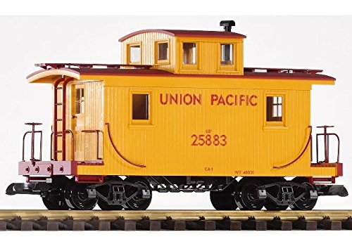 PIKO G SCALE MODEL TRAINS - UNION PACIFIC WOOD CABOOSE 25883 - 38830 ()