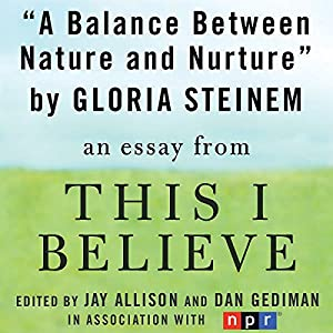 A Balance Between Nature and Nurture Audiobook