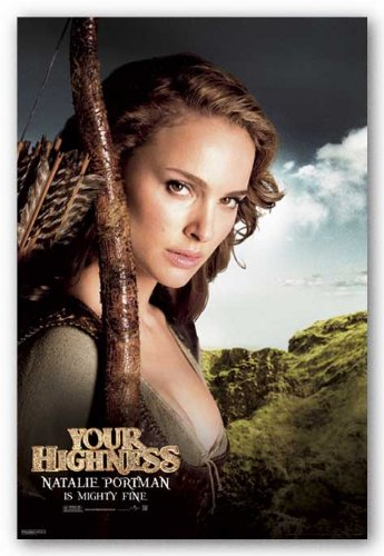 Your Highness Movie Poster Natalie Portman Art Print Poster