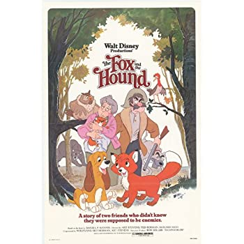 Amazon.com: The Fox and the Hound Poster Movie 27x40 ...