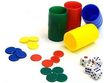 ARTE REGAL Fichas Parchis 4 Jugadores Caja Rectangular: Amazon.es: Juguetes y juegos