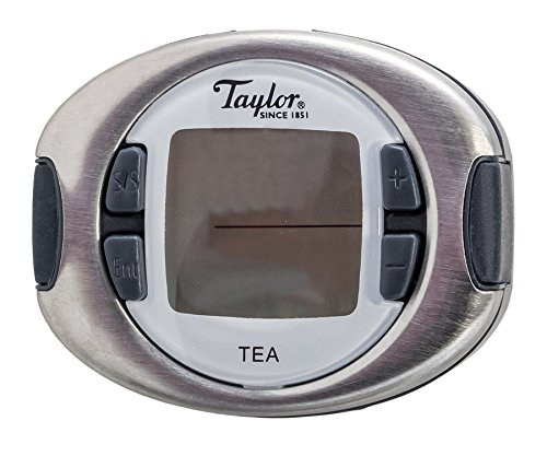 Taylor Precision Products Connoisseur Tea Thermometer and Timer (Taylor Scale Professional)