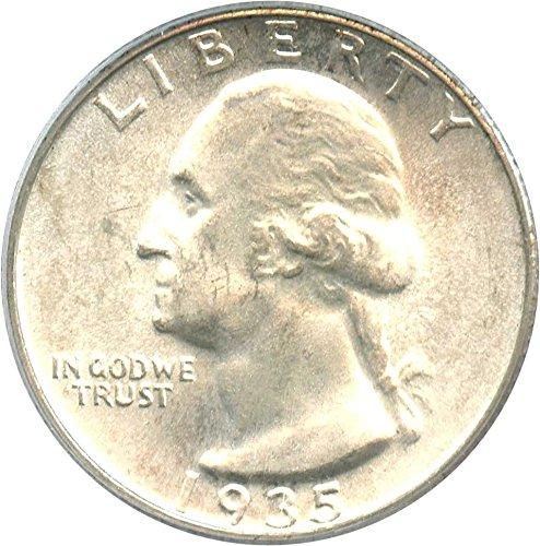 1935 S Washington Quarters (1932-98) Quarter MS65 PCGS\CAC