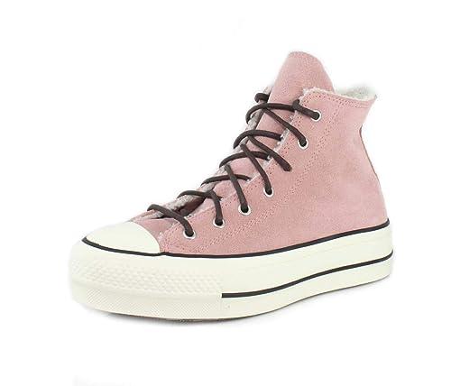 converse zapatillas mujer rosas