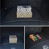 Red de malla para maletero de coche, 4 ganchos, universal, para BMW todas las series E46, E90, X1, X3, X4, X5, X6, F07 y F09