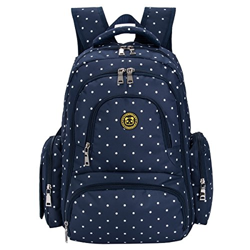 d7279538f3 BIG SALE - Baby Diaper Bag Smart Organizer Waterproof Travel Diaper Backpack  with Changing Pad and