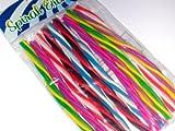 Fun Express Spiral Eraser Sticks Party Favor - 12 Pieces