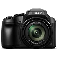 PANASONIC LUMIX FZ80 4K 60X Zoom Camera, 18.1 Megapixels, DC VARIO 20-1200mm Lens, F2.8-5.9, 4K 30p Video, Power O.I.S., WiFi – DC-FZ80K (USA BLACK)