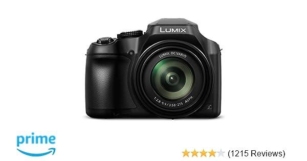 Panasonic Lumix Fz80 4k Digital Camera 181 Megapixel Video Camera 60x Zoom Dc Vario 20 1200mm Lens F28 59 Aperture Power Ois Stabilization