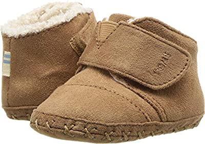 TOMS Kids Unisex Cuna (Infant/Toddler) Toffee Microfiber 1 M US Infant
