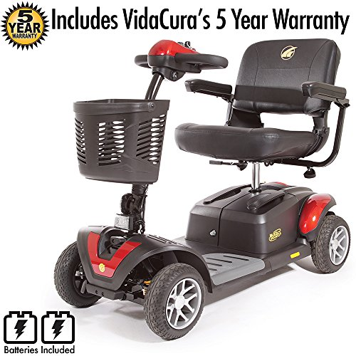 Golden Technologies Buzzaround XL EX 4 Wheel Scooter Includi