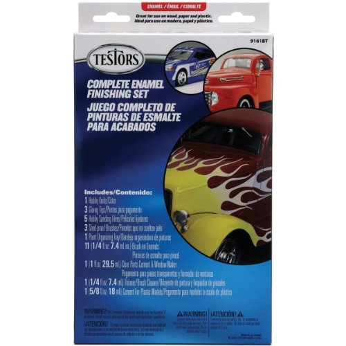 Testors Gloss Finish Enamel Paint Set