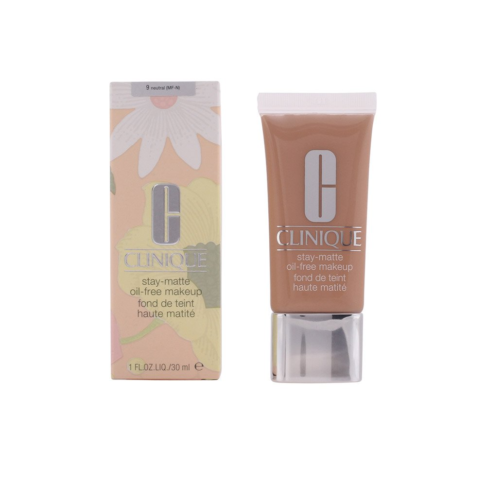 Clinique Stay Matte Oil-Free Makeup, 9/Neutral (MF-N), 1 Ounce by Clinique