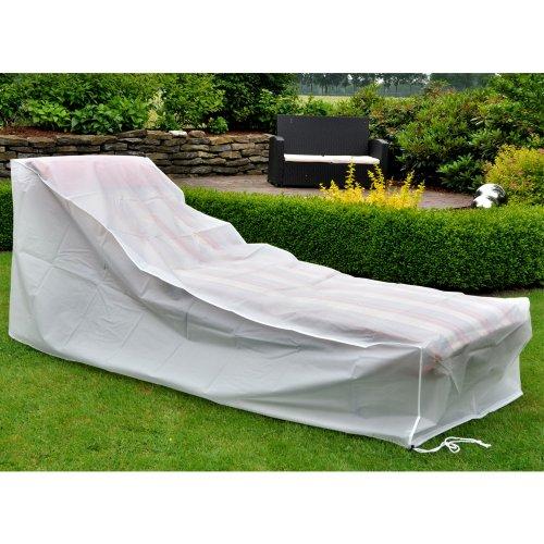Gartenliegen-Abdeckung, UV-Schutz und wasserdicht, ca. 200 x 75 cm