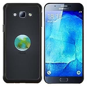 - Home Earth Orbit For Samsung Galaxy A8 A8000 Duro Snap en el tel???¡¯???€????€?????fono celular de la cubierta @ Cat Family