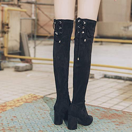 Martin Work Utility plusvelvet Winter Scarpe Zip Pelle Anteriore Velluto Footwear Donna Stivali Caldo Plus In Black Stivaletti Da r4wqE5r