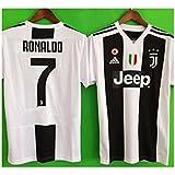 JonSnow Juventus Ronaldo # 7 Soccer Jersey 2018 2019 Home Men's Jersey