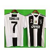 #4: JonSnow Juventus Ronaldo # 7 Soccer Jersey 2018 2019 Home Men's Jersey