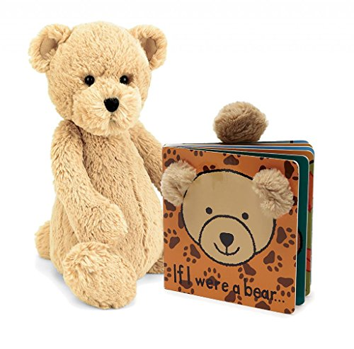 Jellycat Bundle, If I were a Bear Board Book and Bashful Bear (Jelly Bears Toy compare prices)