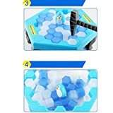 Kennedy Save Penguin Crashed Ice Puzzle Table Games Knock Ice Cubes Block Balance Board Game Puzzle Table Knock Block