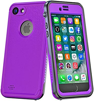 Amazon.com: iPhone 7 Plus/8 Plus funda impermeable, 360 ...