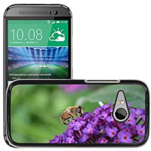 GoGoMobile Slim Protector Hard Shell Cover Case // M00118018 Hoverfly Hornet Mimic // HTC One Mini 2 / M8 MINI / (Not Fits M8)