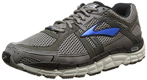 Brooks Men's Addiction 12 Black/Anthracite Sneaker 9.5 4E - Extra Wide