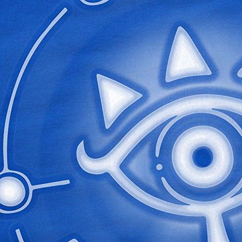 The Breath Zelda n shirt Sheikah Switch A t Tablette Link Snes Femme Bleu Wild T Of Ocarina UqvOnzxwnf