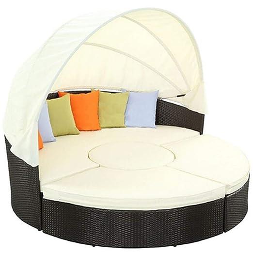 WOAINI Muebles de patio Césped al aire libre Patio trasero ...