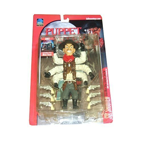 PUPPET MASTER SIX SHOOTER RARE ORANGE CARD Puppet Master Six Shooter