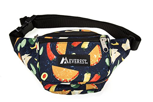(Everest Signature Pattern Waist Pack, Tacos One)