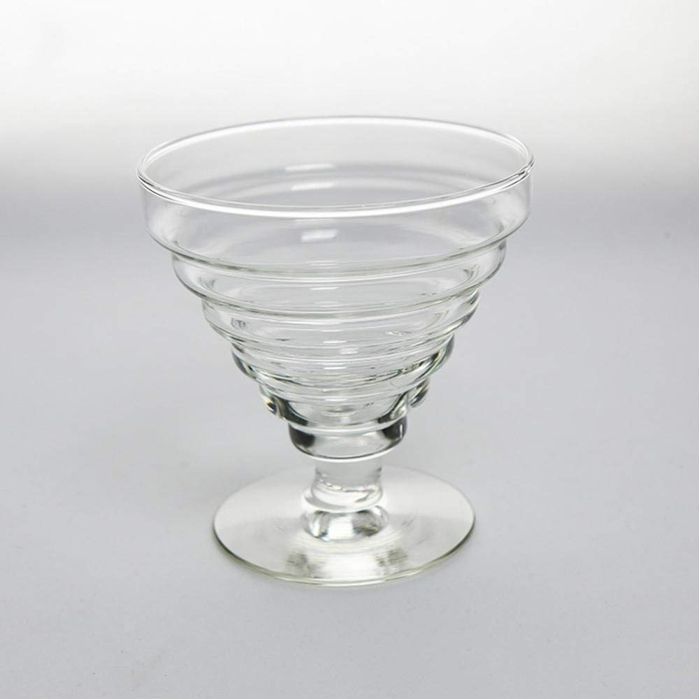 Kinue Exquisite Tea Cups Saucers Set Set Coffee Cup Creative ice Cream Glass Juice Cocktail Cup Salad Cup by Kinue