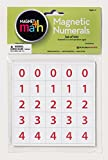 100 number tiles - Dowling Magnets Magnetic Numerals (.88 inch in diameter), Set of 100