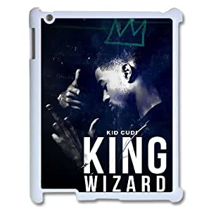 Wlicke Kid Cudi Customized Durable Ipad2,Ipad3,Ipad4 Case, New Style Protective Phone Case for Ipad2,Ipad3,Ipad4 with Kid Cudi