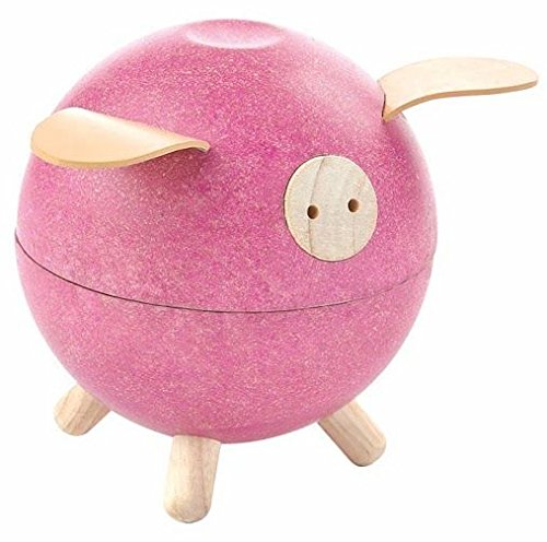PlanToys Piggy Bank- Pink