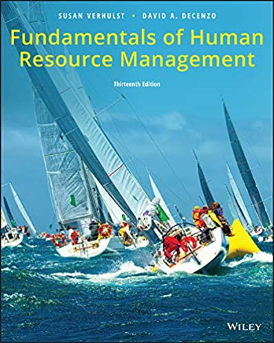 amazon com fundamentals of human resource management, 13th edition