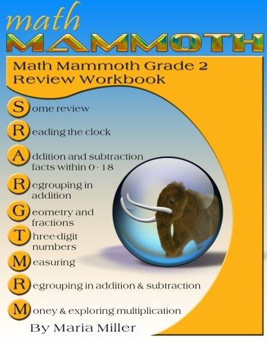 Math Mammoth Grade 2 Review Workbook: Maria Miller: 9781515185727 ...