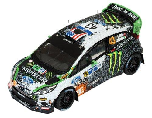 1/43 フォード FIESTA RS WRC 2012年Rally MEXICO #43 K.Block/A.Gelsomino RAM507