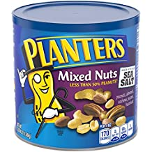 Planters Mixed Nuts, Mixed Nuts, Regular, 56 Ounce (Pack of 1)