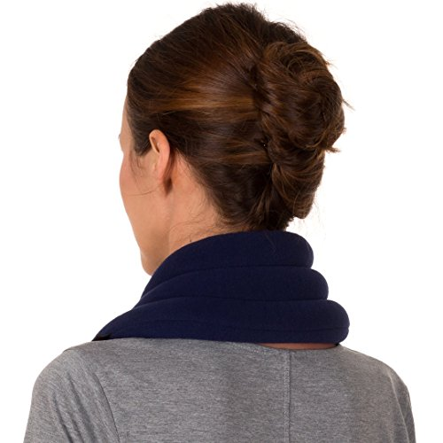 Sunny and Ice Wrap for Neck Microwavable, Portable, Reusable, and Cold
