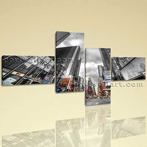 new-york-nasdaq-square-large-wall-art-hd-print-on-canvas-home-decor-stretched-extra-large-new-york-w