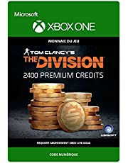 Tom Clancy's The Division: Currency pack 2400 Premium Credits [Xbox One - Code jeu à télécharger]