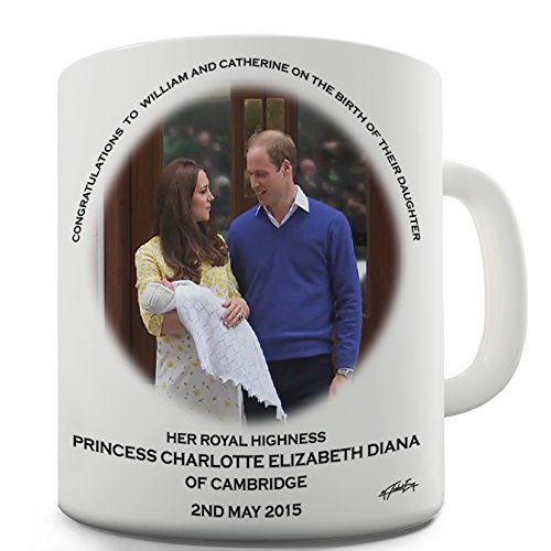 HRH Royal Baby Princess Charlotte Commemorative Novelty - Commemorative Novelty