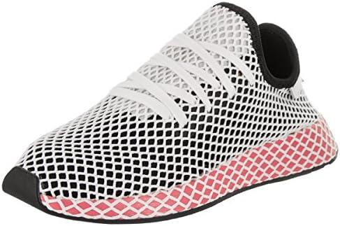 adidas Womens W DEERUPT Runner CBLACKCBLACK 5.5: