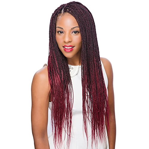 MULTI PACK DEALS! Oh Yes Hair Synthetic Hair Braids Ez Braids Professional 28'' (6-PACK, 1B) by Oh Yes (Image #4)
