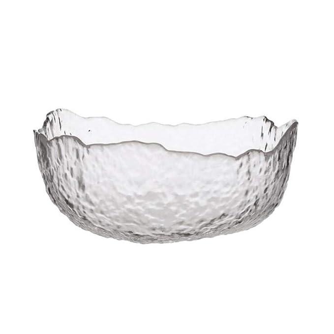 Tazones de fuente de cristal, tazón de fuente agradable creativo ...