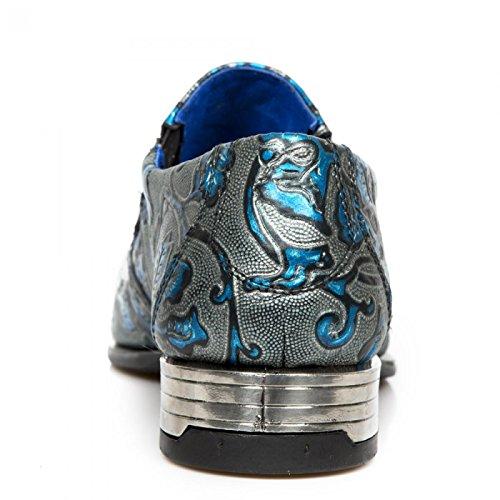 Nuovi Stivali Da Roccia M.nw2288-s26 Urban Rock Herren Sneeker Blau